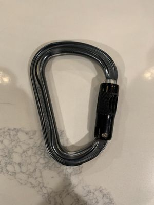 Black Diamond ATC-XP and Petzl Auto-Locking Carabiner for Sale in Anaheim, CA