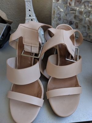 Size 8 Nude Sandals for Sale in Miramar, FL