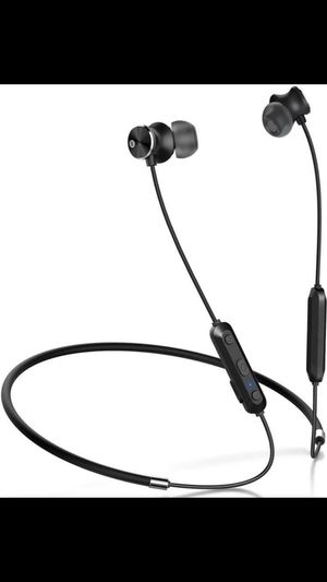 Humixx Wireless Headphones Sports Wireless Bluetooth Earphones Apt-X Stereo Magnetic In-ear Earbuds with Mic and Secure Fit for Sports, Gym, Travelli for Sale in Grand Island, NE