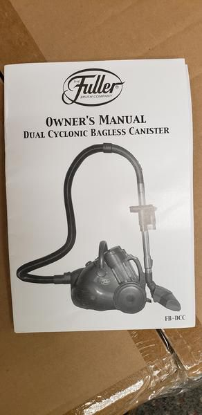 Brand new Fuller Dual Cyclonic Bagless Canister vacuum model FB-DCC for Sale in Archdale, NC
