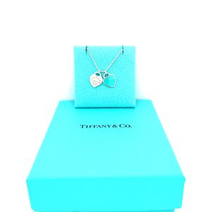 Tiffany and Co Mini Teal Necklace for Sale in Woodbridge, VA