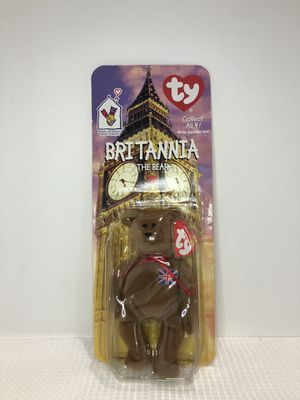 TY BEAR 1999 - RONALD MCDONALD HOUSE COLLECTIBLE - BRITANNIA for Sale in Hoffman Estates, IL