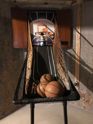 Electric Basketball hoop & dart board with Case for Sale in Yaphank, NY