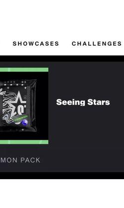 NBA Top Shot Seeing Stars Unopened Pack (Series 2) for Sale in Pomona,  CA
