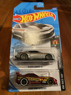 Hot wheels camaro as Dodge Viper srt for Sale in Los Angeles, CA