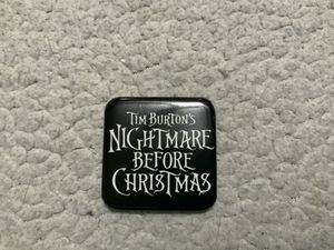 "NEW Tim Burton's Nightmare Before Christmas button 2"" x 2"" Vintage 1993 Walt Disney for Sale in Henderson, NV"