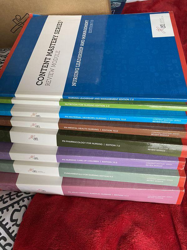 8 ATI nursing education review pack brand new