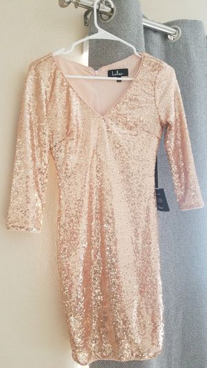 Gold sequin bodycon dress XS for Sale in Anaheim, CA