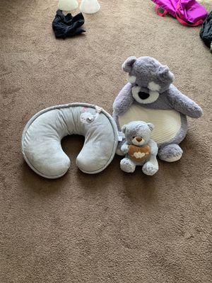 Baby Boppy & stuffed bears for Sale in Las Vegas, NV