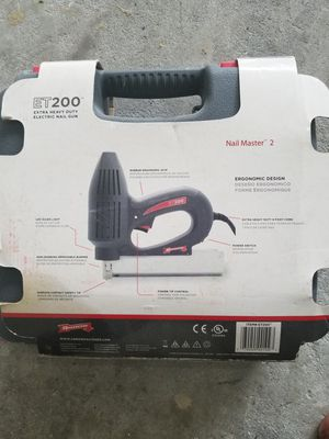 ET200 electric Brad nail gun for Sale in Frederick, MD