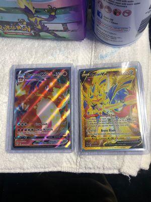 Pokémon - Charizard and Zacian for Sale in Hallandale Beach, FL