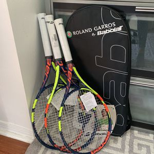 Babolat Pure Aero French Open Tennis Racket By Roland Garros Paris for Sale in Miami, FL
