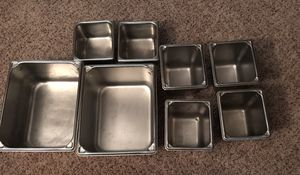 8 Vollrath Stainless Steel Steam Table Pans for Sale in Manheim, PA