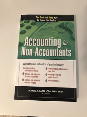 Accounting for Non accountants for Sale in Plainville, CT