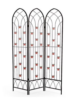 Outdoor 6' Candle Screen With 39 Votive Holders for Sale in Chicago, IL