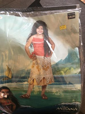 Moana dress costume for Sale in Pittsburg, CA