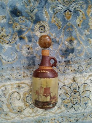 Antique leather bottle for Sale in Norcross, GA