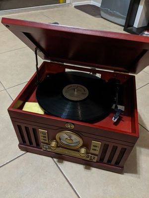 All in one Record player, CD player, radio, caset player for Sale in Deerfield Beach, FL