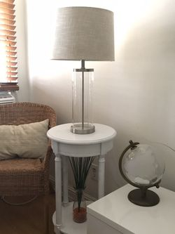 Lamps, Black Shelf , Floating Shelves , White Side Table , Velvet Ottoman , Standing Lamp , Desk Lamp, Table Lamp, Ladder Shelf , Bookcase for Sale in Los Angeles,  CA