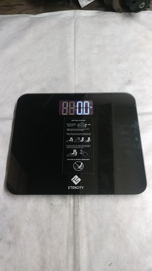 Brand new Etekcity High Precision Digital Body Weight 1 off 50 Bathroom Scale with digital screen lb kl st for Sale in Long Beach, CA
