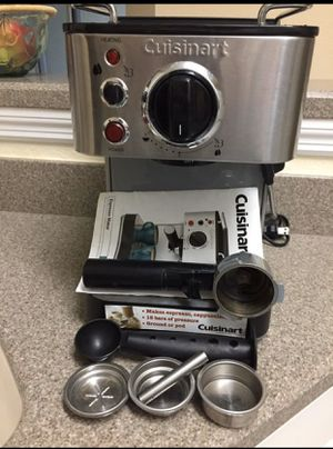 CUISINART ESPRESSO MACHINE for Sale in Sanford, FL