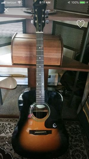 Epiphone acoustic guitar steel string for Sale in Portland, OR