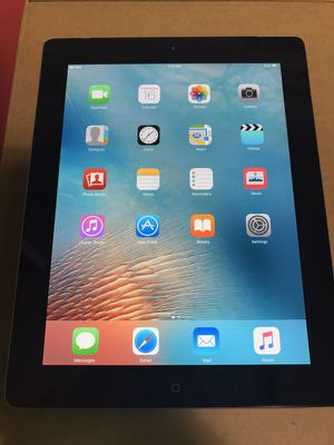 Apple iPad 2 32gb iOS 9.3.5 4G AT&T for Sale in Dallas, TX