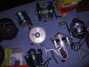 Fishing reels ..rods..spinners..bait n more for Sale in Las Vegas, NV