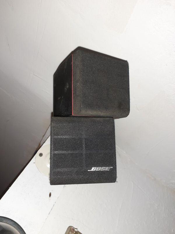 BOSE Cube speakers 3 total