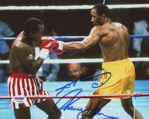 "Sugar Ray Leonard & Thomas ""Hitman"" Hearns Autographed 8x10 for Sale in Ashland, MA"