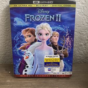 FROZEN 2 4K Blu-ray for Sale in Phoenix, AZ