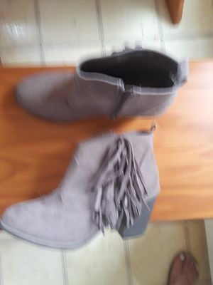 Suede Fringe Boots for Sale in Parma, OH