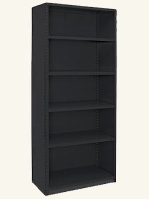 Closed Industrial Steel Shelving (Black) for Sale in Conyers, GA