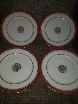 "4 GOA french dinner plates France Field Havild Limoges Plates 10"" for Sale in Clarksville, TN"