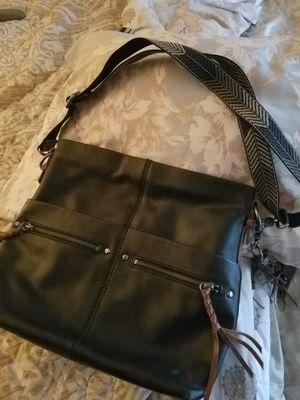 Black leather purse for Sale in Tacoma, WA