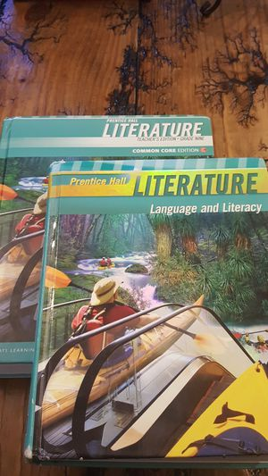 Prentice Hall Literature Common Core Grade 9 Student & Teacher Edition for Sale in Lynchburg, VA