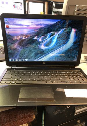 Hp 15 notebook pc w/charger for Sale in San Diego, CA