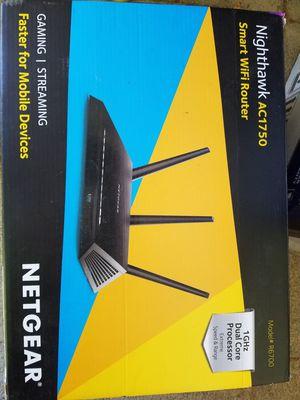 NETGEAR AC1750 Nighthawk smart wifi router for Sale in Lake Elsinore, CA