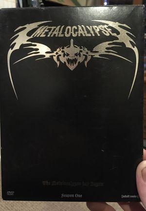 Metalocalypse Season One for Sale in West Covina, CA