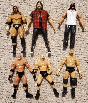 WWE WCW action figures for Sale in Houston, TX
