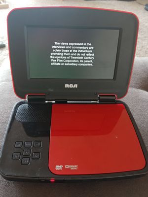RCA portable dvd player for Sale in Seattle, WA