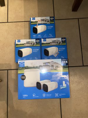 Eufy 1080p Security Camera System with 2 Wireless Cameras, 365-Day Battery Life for Sale in Glendale, AZ