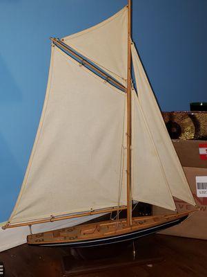 Sail boat deco for Sale in Palos Hills, IL