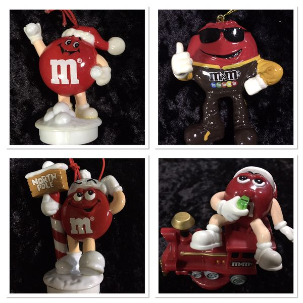 M & M Christmas ornaments - $12 for all