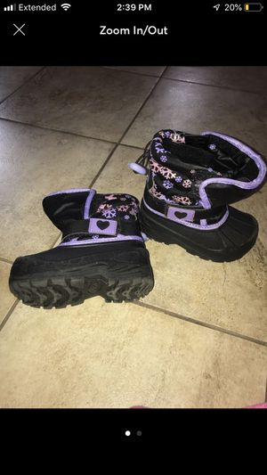 Girl snow boots for Sale in Matewan, WV
