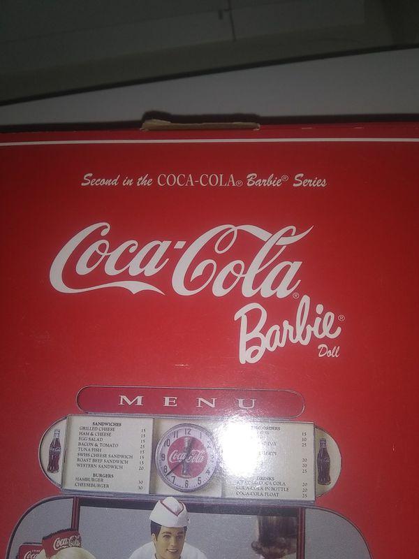 Rare Coca-Cola Barbie doll