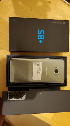 Samsung galaxy s8+ plus unlocked 64gb with otterbox cover for Sale in San Francisco, CA