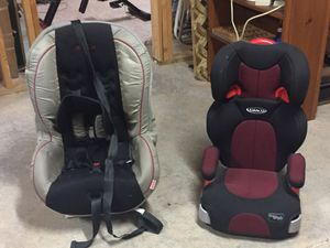 Car seats for infant and toddler. for Sale in Winston-Salem, NC