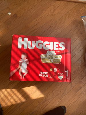 Huggies size 1 diapers for Sale in Fort Washington, MD