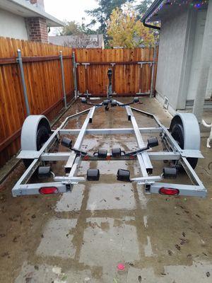 20ft boat trailer, heavy duty suspension. BILL OF SALE for Sale in Stockton, CA